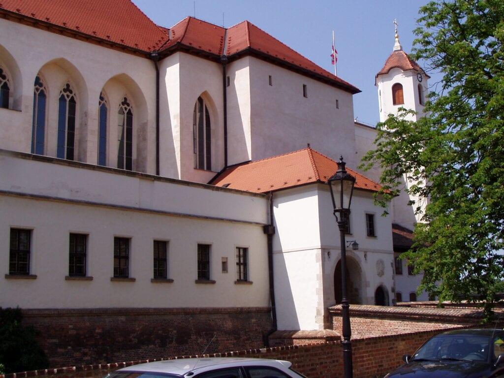 Obytná část celého hradního komplexu