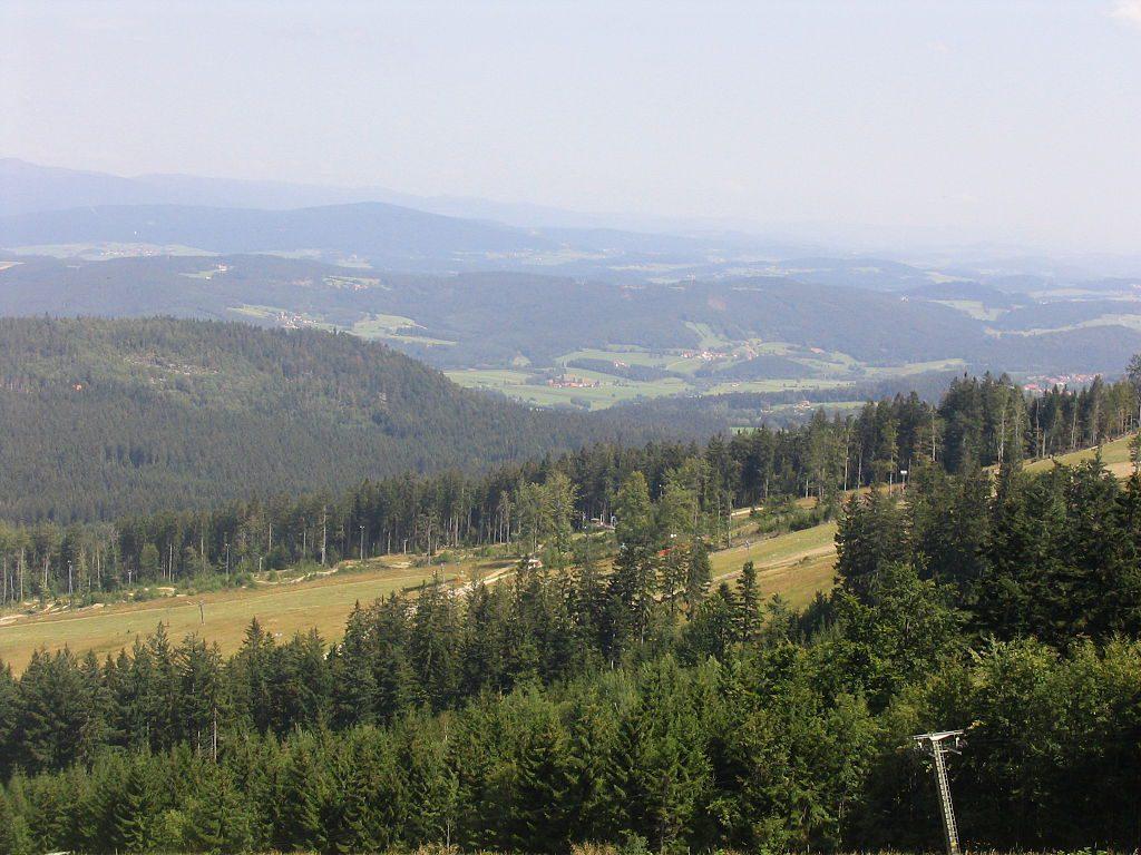 Bavorský les je rozlehlé území