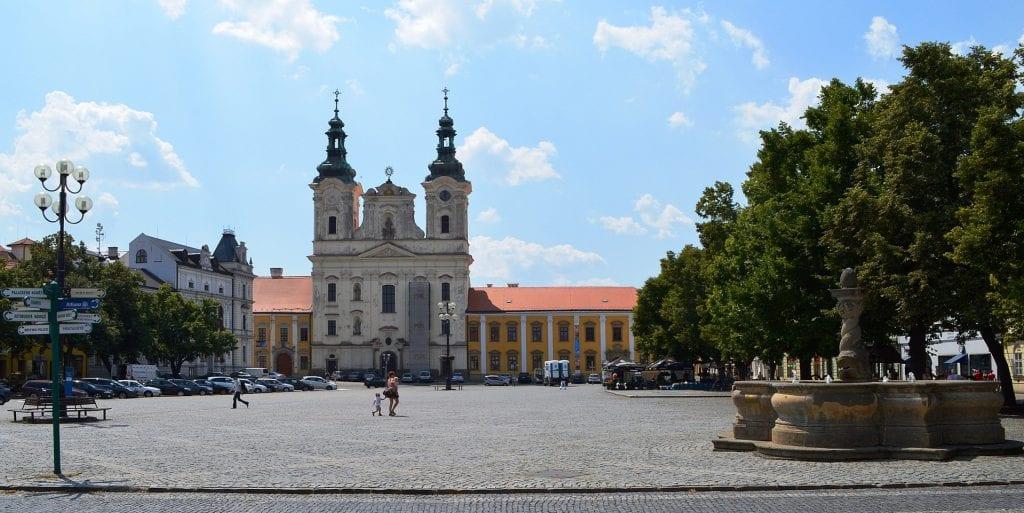 Uherské Hradiště je nedaleko