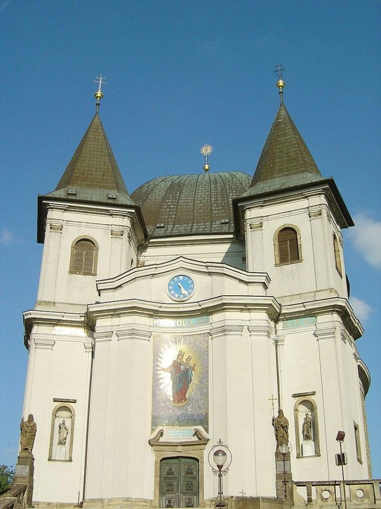 Cyrilometodějská stezka má na trase také Svatý Hostýn.