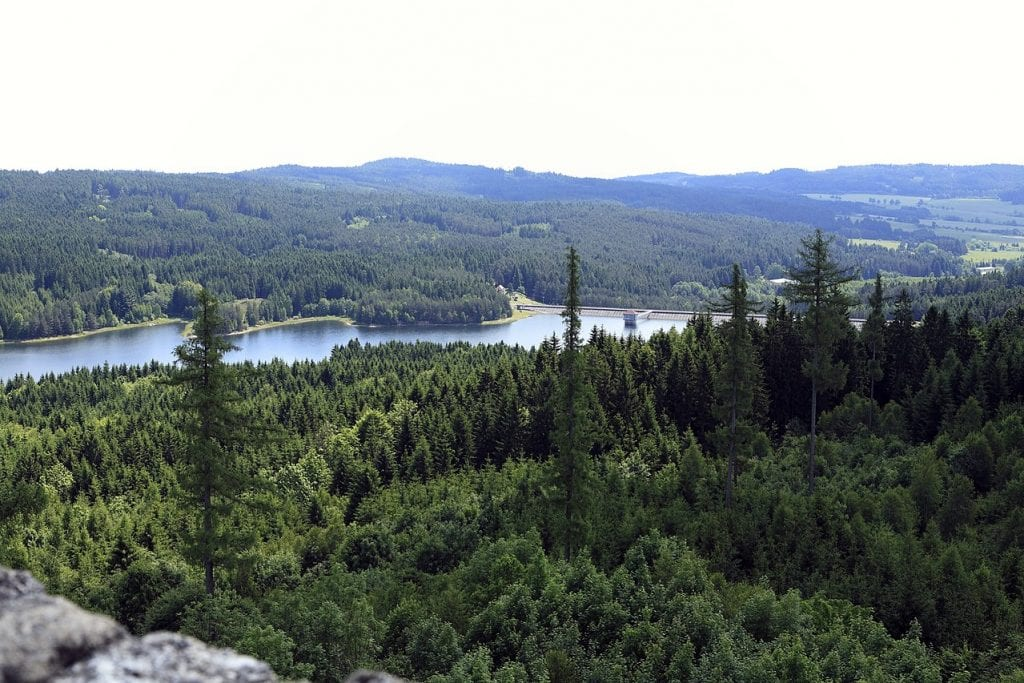 Území České Kanady je opravdu nádherné.