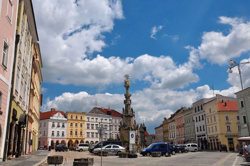 Jindřichův Hradec je jedno ze středisek České Kanady.