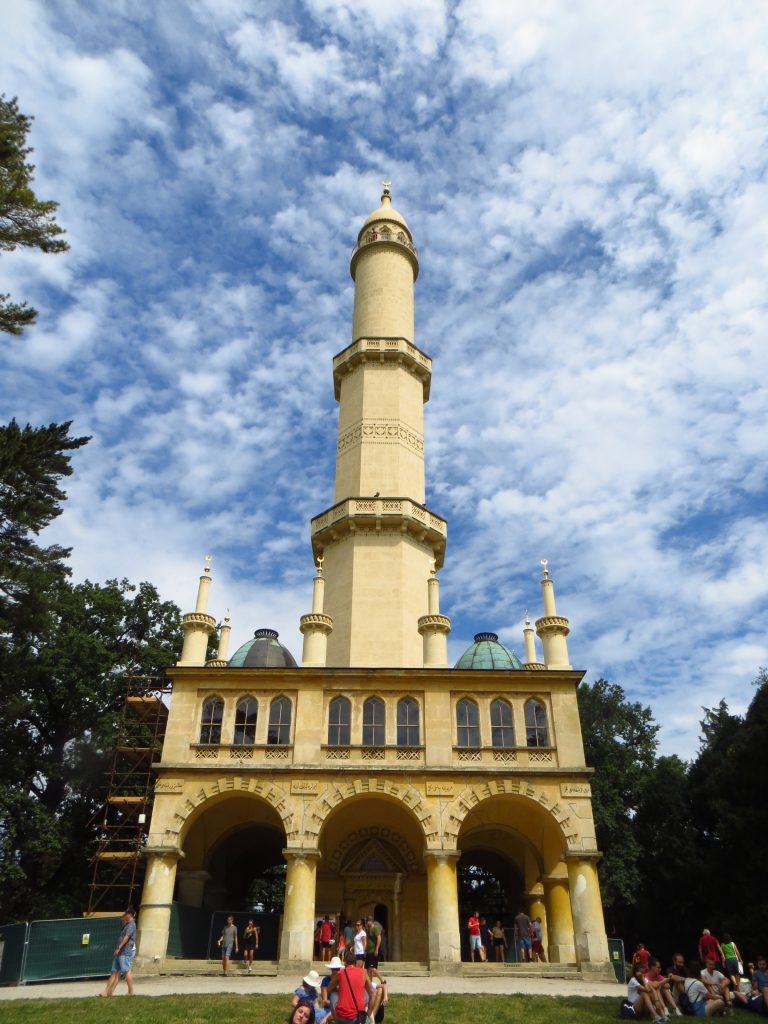 Minaret je dominantou, a proto je také hojně navštěvován.