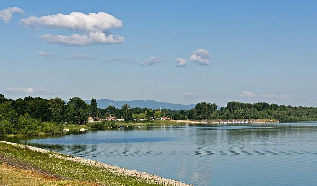 Otmuchovské jezero je krásné po všech stránkách.