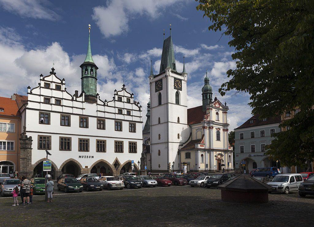 Muzeum a radnice v Litoměřicích.