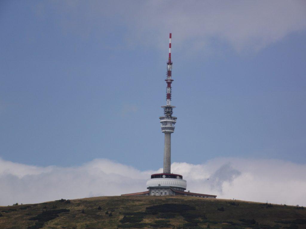 Ikona Jeseníků. Nejvyšší vrchol Praděd.