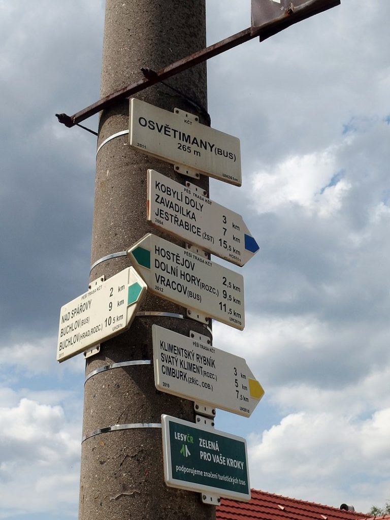 Trasy pro turistiku jsou různé.